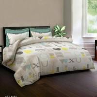 Bed Cover King Rabbit - A2Z Alfabet Abjad Biru - Single 140