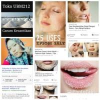 Harga Garam Kesehatan dan kecantikan | WIKIPRICE INDONESIA
