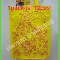 Jual tas goodiebag / tas spunbond /tas goodie bag ulang tahun little pony Murah