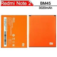 Battery Baterai Batre Xiaomi Redmi Note 2 Prime BM45 Batere Note2
