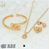 Jual ( GS 235 ) Set Perhiasan / Xuping / Lapis emas Murah