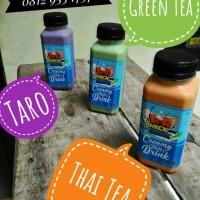 Jual Minuman Thai Tea, Greentea, Taro Creamy Milkz Drink Murah