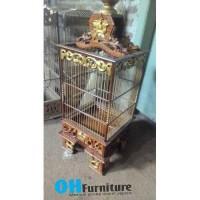 Sangkar Burung pleci Ukir pcmi gratis ongkir