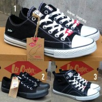 Sepatu Sneakers /Sekolah Lee Cooper type HEFA Original