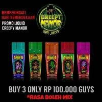 LIQUID CREEPY MANOR 3 ONLY 100K