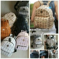 TAS MCM STUDDED BACKPACK