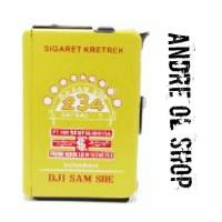 Jual Kotak Rokok Plus Korek Api Dji Sam Soe Hijau ( pendek ) Murah