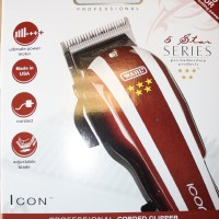 Alat Cukur WAHL ICON FIVE STAR CLLIPPER, V9000 MOTOR,MADE IN USA