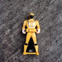 Jual power ranger key goon yellow super sentai action figure Murah