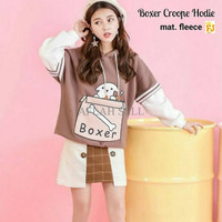 Jual ERQ Boxer Crop Hoodie Murah