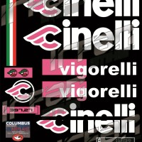 DECAL FRAME SET CINELLI VIGORELLI
