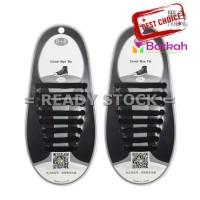 Jual 8 pcs Tali Sepatu Kets, Olahraga, Anak Silikon / Silico Berkualitas Murah