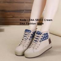 Sepatu Boots Elegan untuk Anak Muda Kode EMA SB033