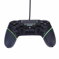 Jual JUAL Wired Controller Black Green For Ps4 Ps3 And Pc  Murah