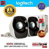 RESMI!! LOGITECH Z120 Mini Stereo Speaker Portable Laptop/ PC USB