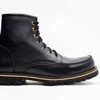 Jual Sepatu Boots Gunung Pria Wetan Pajajaran Kulit Sapi Asli Bandung Murah