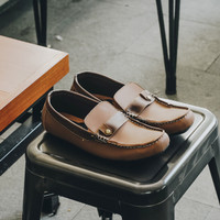 Sepatu Loafers Pria Trumph Siberia Brown Moccasin | Sepatu Slip On