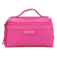 Longchamp Le Pliage Neo Handle Cosmetic Bag Small Size - Pink