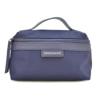 Longchamp Le Pliage Neo Handle Cosmetic Bag Small Size - Navy