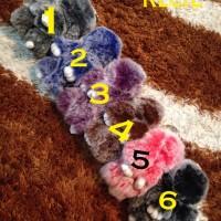 Jual L2685 Gantungan Tas Bunny Bulu Kecil 15cm 2 To KODE V2685 Murah