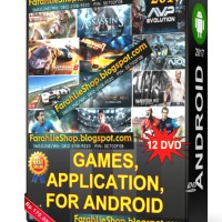 Paket Aplikasi & Game HD Android (12DVD) DVD Android Game Android Apps