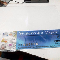 Jual Canson Watercolor Paper 200 gsm with New Gelatine Sizing Murah