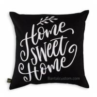 Jual Sarung Bantal Kursi 40x40 #HomeSweetHome Murah