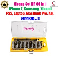 Obeng Set Teknisi HP 60 in 1 iPhone 7 Macbook Pro/Air Samsung Xiaomi