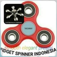 Jual Fidget Spinner Full Stainless Steel Super Premium Murah