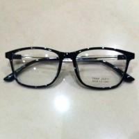 kacamata frame korea lentur dan tipis pria wanita free lensa