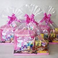 PITA SERUT Lbr 3cm perlengkapan pesta party packing parcel kado hadiah