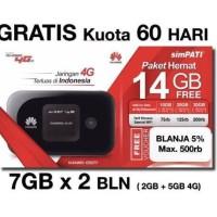 Jual Mifi Huawei 4G LTE E5577 Unlocked Garansi Resmi Free TSEL 14Gb 2Bln Murah