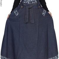Jual Rok Panjang Wanita Jeans Jumbo Model Umbrella Rok Lebar Jeans Murah