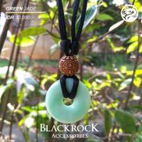 Kalung Liontin GREEN JADE Pria Wanita - Blackrock
