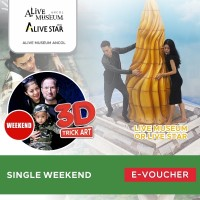 ALive Museum Ancol Single Weekend E-Ticket