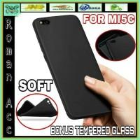 Jual CASE XIAOMI MI5C CASING SLIM BACKCASE HP COVERS + TEMPERED GLASS MI 5C Murah