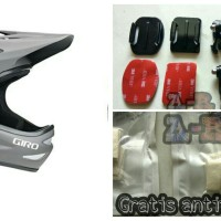 Side Mount Helm Action Camera yi cam/gopro/bpro/sjcam/kogan/bcare,dl