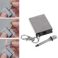 Jual Gantung Kunci Korek Api Minyak Mancis Kecil zippo Lighter Matches Mini Murah