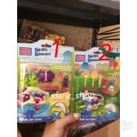 Smurf Figure Set Mega Bloks Original