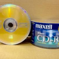 Jual CD-R Maxell 52X 700MB (50pcs) - CD Kosong - CD R Maxell - Compact Disc Murah
