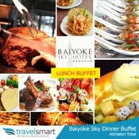 Tiket Baiyoke Sky Lunch Lantai 76-78 International Buffet (Dewasa)