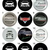 Jual Custom Cover Ban Serep Mobil Toyota Katalog Murah