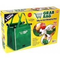 Jual Grab Bag / Tas Belanja Multi fungsi ( 2 BAGS ) Go Green Murah