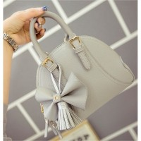 tas cangklong shoulder bag ribbon formal kasual abu forever 21 rubi lv