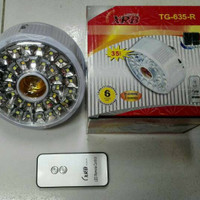 Jual BEST SELLER Lampu Emergency Fitting Remote XRB 635 SMD 35 LED Murah