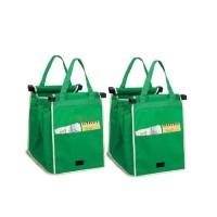 Jual Best Quality GO Green Bag Grab Bag tas belanja shopping bag Murah