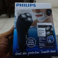 Alat Cukur Kumis - Electric Shaver AquaTouch Philips AT620 - Wet & Dry
