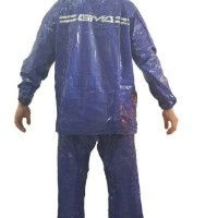Jual Jas Hujan Karet PCV Original GMA Raincoat Legenda kyk Axio Europe Murah
