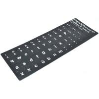 Jual US English Big Font Size Layout Sticker for Keyboard Berkualitas Murah