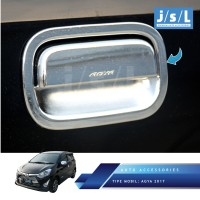 New Agya 2017 Outer Handle Cover Chrome / Bingkai Pintu JSL Krom